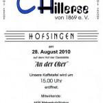 Hofsingen 2010