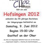 Hofsingen 2012
